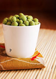 Wasabi Snacks Stock Images