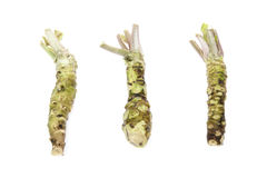 Wasabi in a white background Royalty Free Stock Photo
