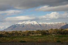 Wasatch Berge in Utah Lizenzfreies Stockfoto
