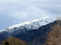 Wasatch Front Mountains dichtbij Brigham City Royalty-vrije Stock Afbeelding