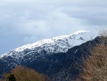 Wasatch Front Mountains perto de Brigham City Imagem de Stock Royalty Free