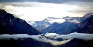 Wasatch Front in Winter Royalty Free Stock Photography