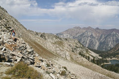 Wasatch Mountains Royalty Free Stock Images