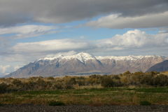 Wasatch Mountains in Utah Royalty Free Stock Photo