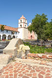 Wasbassin Santa Barbara Mission Stock Afbeelding