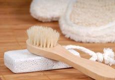 Waschen-Handschuh stockbild