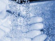 Waschende Hände Lizenzfreies Stockbild