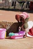 Waschende Kleidung Stockfotos