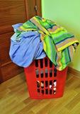 Waschende Kleidung Lizenzfreie Stockfotografie