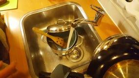 Waschende Teller stock video footage