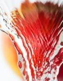 Waschender Apfel Lizenzfreie Stockfotos
