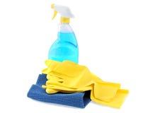 Waschender Glassatz Lizenzfreie Stockbilder