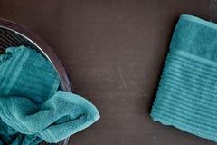 Waschender Korb Stockbilder