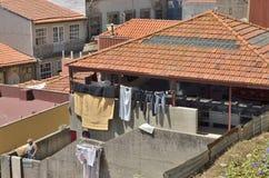 Waschender Platz in Porto Lizenzfreie Stockfotografie