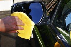 Waschender Rearviewspiegel Lizenzfreies Stockfoto