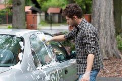 Waschendes Auto Stockfotos