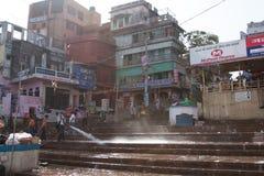 Waschendes Ghats Stockbilder