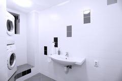 Waschküche lizenzfreie stockfotografie