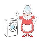 Waschmaschine. Stockfotografie