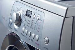 Waschmaschine mit automatischem Lizenzfreies Stockbild