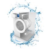 Waschmaschine sauber Stockbilder