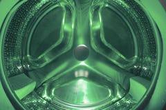 Waschmaschineneinzelheit lizenzfreie stockbilder