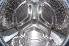 Waschmaschineneinzelheit Stockfotos