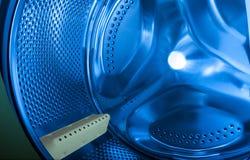 Waschmaschineninnenraum Stockbild