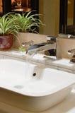 Waschraumdetail Stockbilder