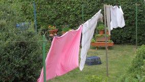 Waschtag Stockbild
