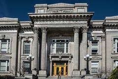 Wasco County domstolsbyggnad i Dallesen, Oregon Royaltyfri Bild
