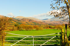 Wasdale Fells from Muncaster Stock Photos