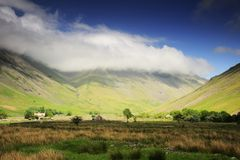 Wasdale Head. Wast Water, Lake District, England Stock Photos