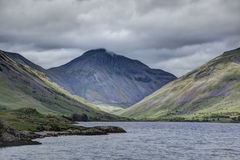 Wasdale Head. Great Gable at the head of Wastwater Stock Image