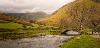 English Village, Lake District, United Kingdom Stock Image