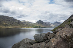 Wasdale Lake District England Mountain scafell 3 Stock Images