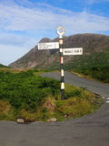 Wasdale Old Road Sign, Lake District England Royalty Free Stock Photo