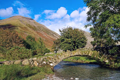 Wasdale Pack Horse Bridge. The Pack Horse Bridge at Wasdale Head in the Lake District Stock Image