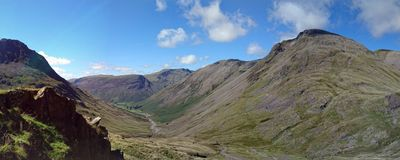 Wasdale Valley Royalty Free Stock Images
