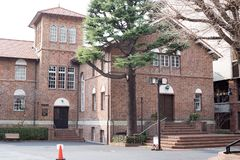 Waseda hoshien дом семинара стоковые изображения