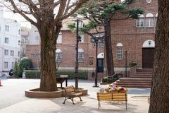 Waseda hoshien seminariumhuset arkivfoton