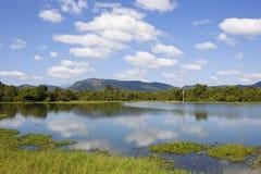 Wasgamuwa het Lake District in Sri Lanka Stock Afbeeldingen