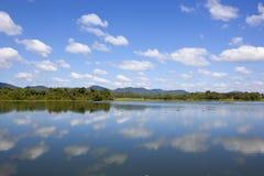 Wasgamuwa sceneria w sri lance Fotografia Stock