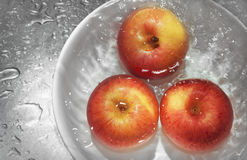 Wash apples Royalty Free Stock Photo