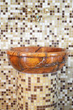 Wash basin made ​​of stone Stock Image