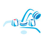 Wash Basin Vector Picture. Wash Basin Designs. Wash Basin Cleaning. Royalty Free Stock Image