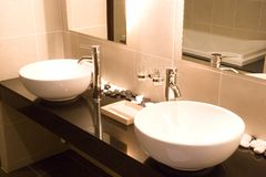 Wash Basins Royalty Free Stock Photography