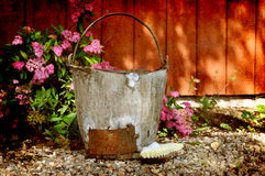 Wash bucket Royalty Free Stock Photography