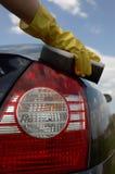 Wash car Royalty Free Stock Images