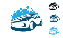 Wash car Royalty Free Stock Photos
